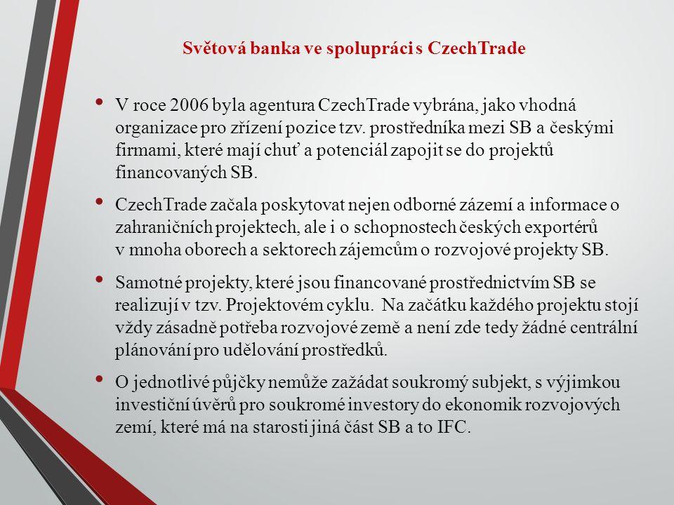 Světová banka ve spolupráci s CzechTrade