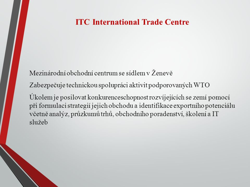 ITC International Trade Centre