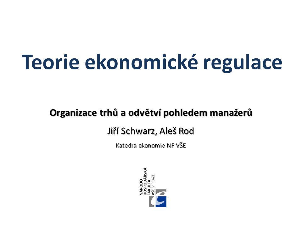 Teorie ekonomické regulace