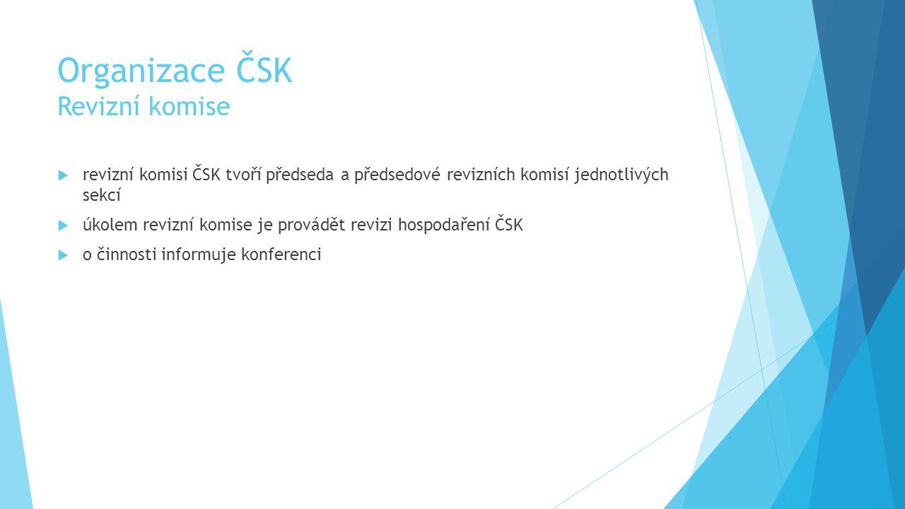 Organizace ČSK Revizní komise
