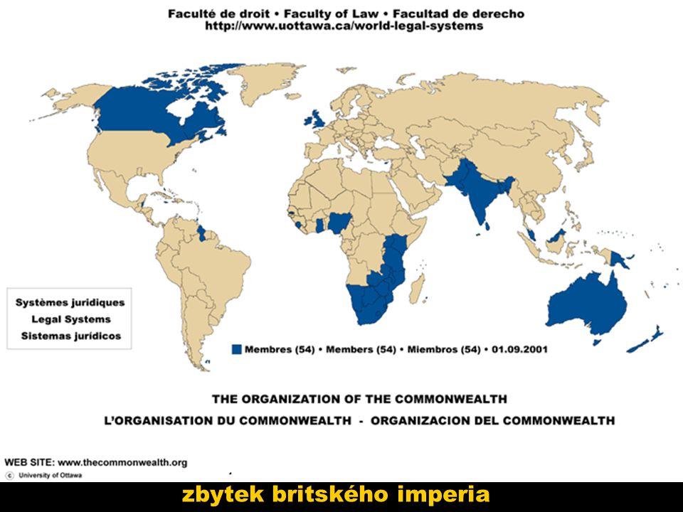 zbytek britského imperia