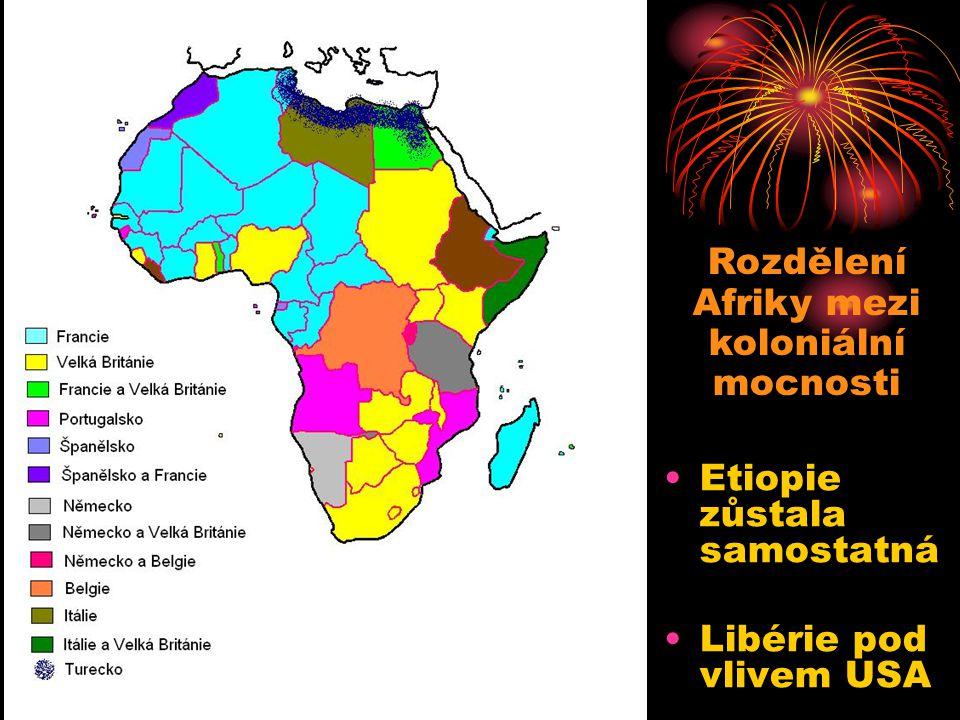Rozdělení Afriky mezi koloniální mocnosti