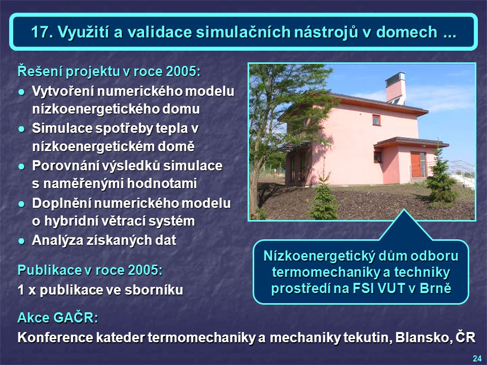 Téma 17 a KE - Ing. Zdeněk DES