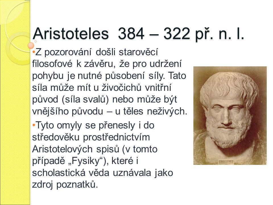 Aristoteles 384 – 322 př. n. l.