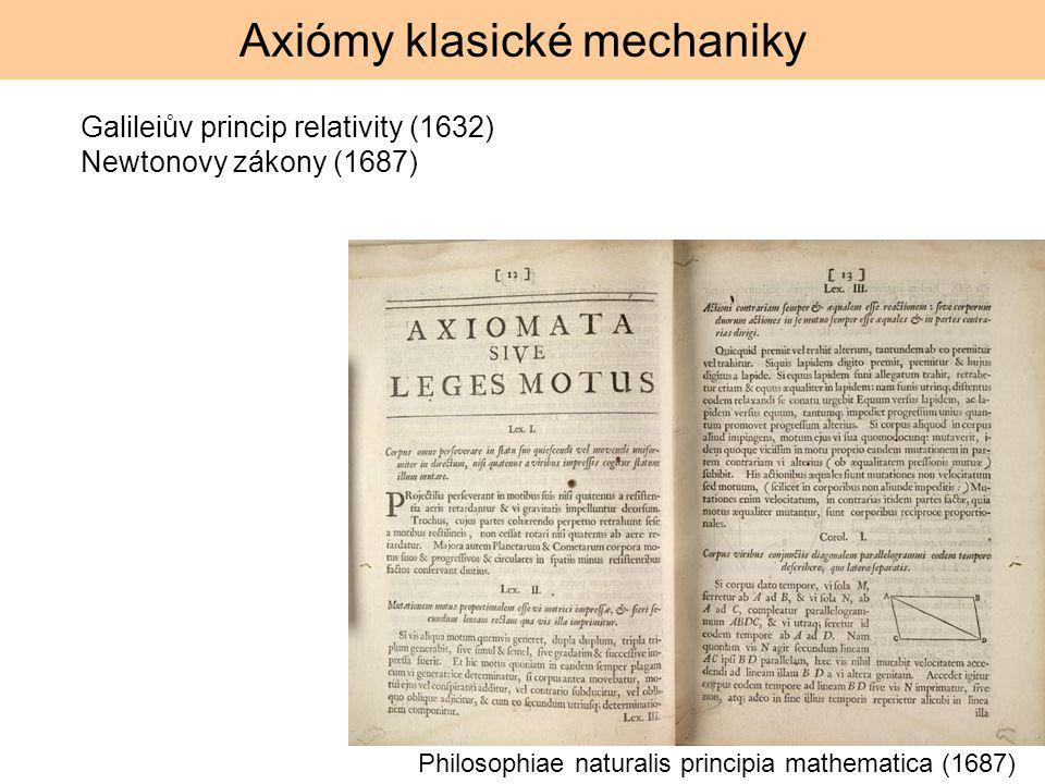 Axiómy klasické mechaniky