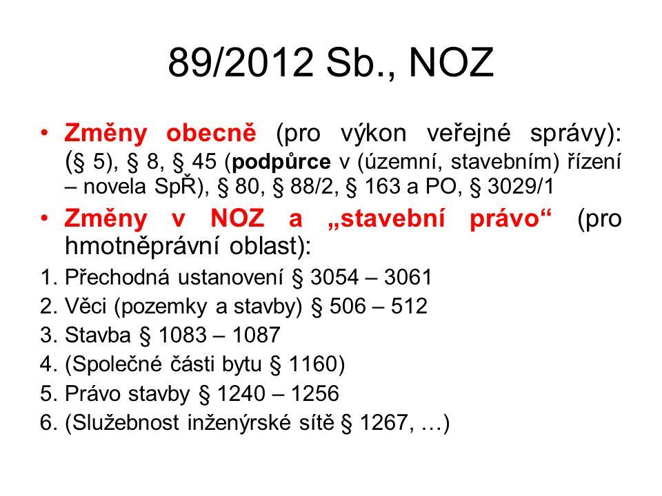 89/2012 Sb., NOZ