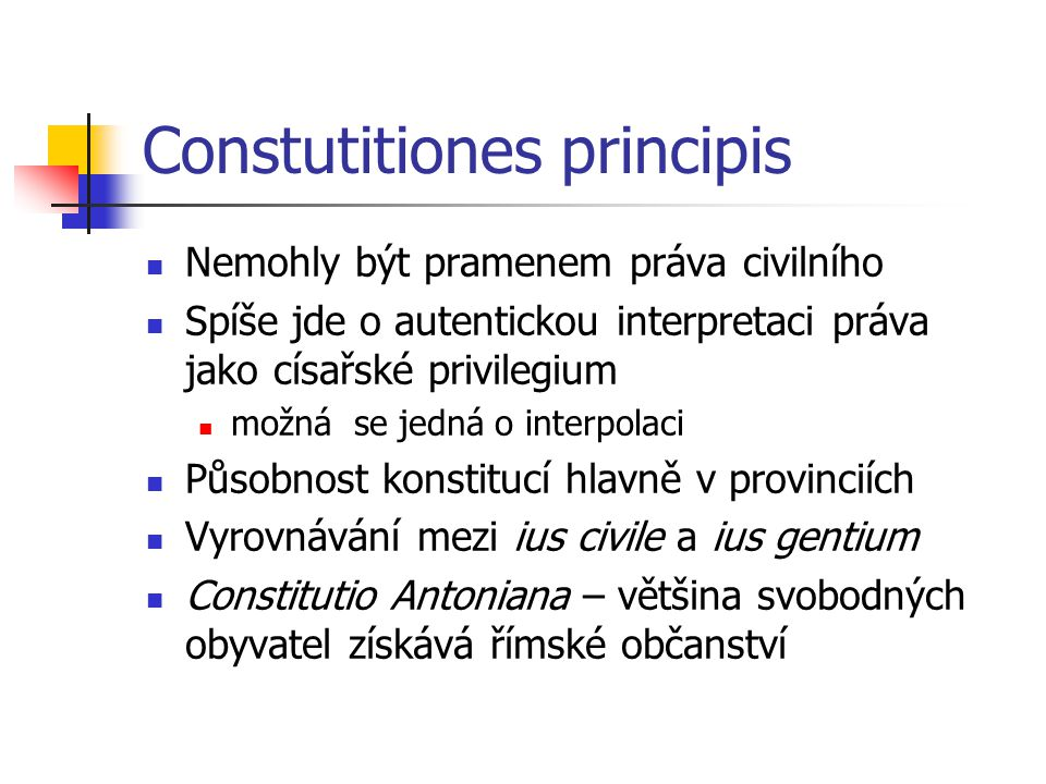Constutitiones principis
