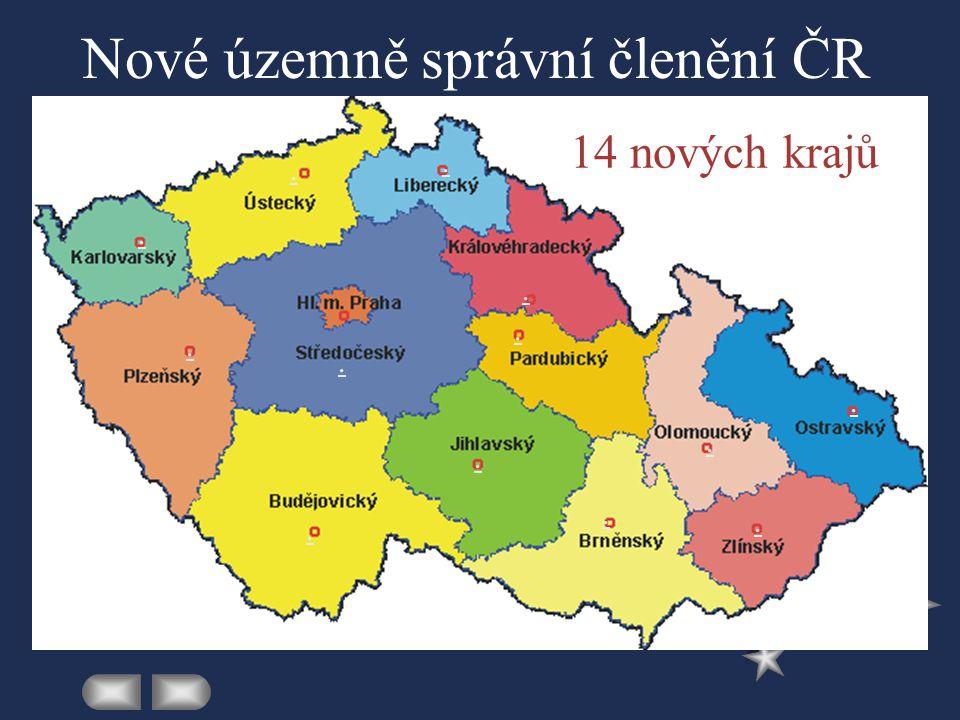 Nové územně správní členění ČR