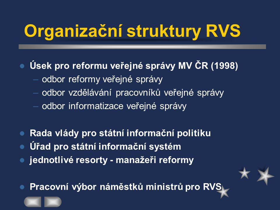 Organizační struktury RVS