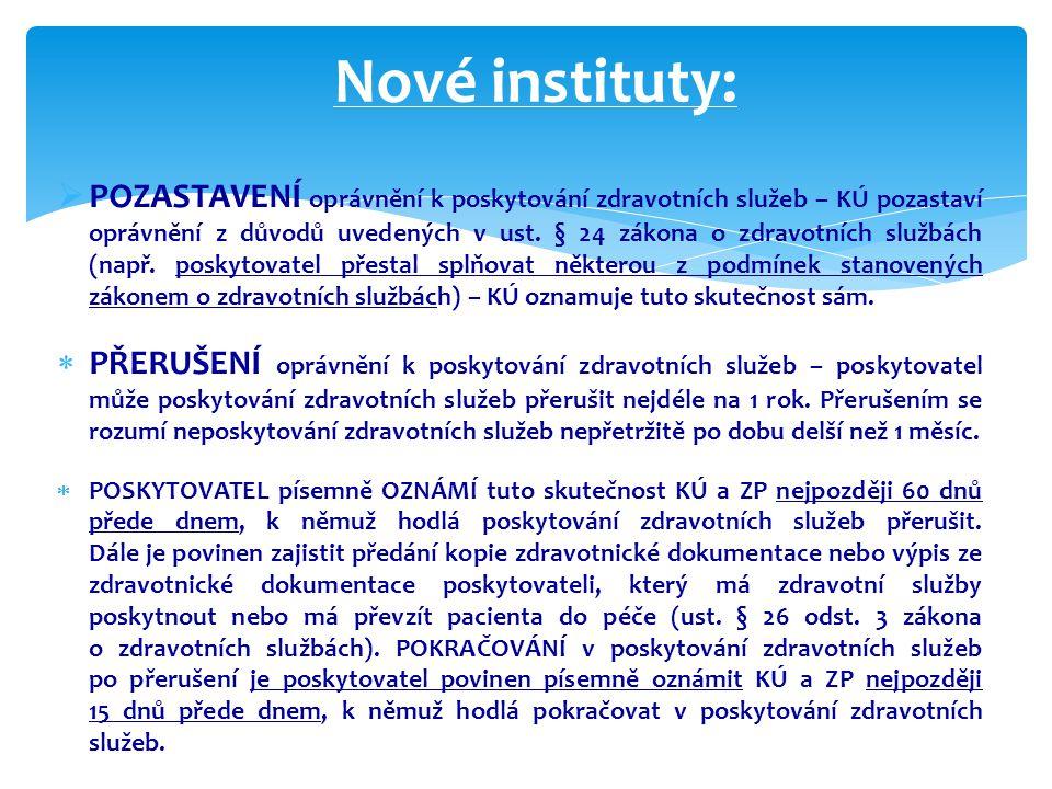 Nové instituty: