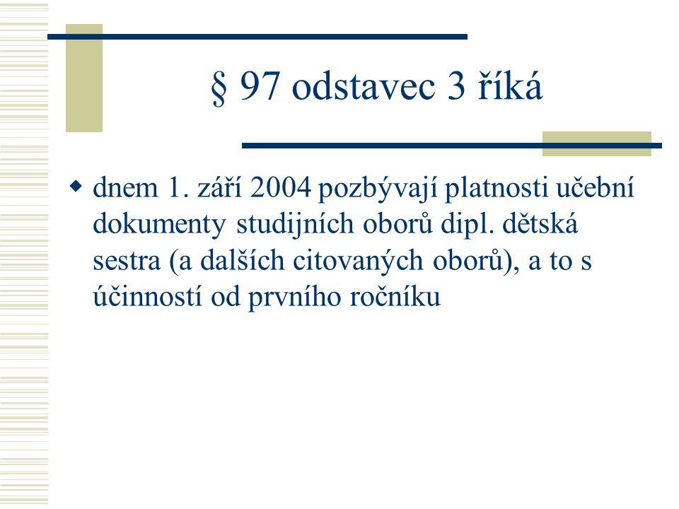 § 97 odstavec 3 říká