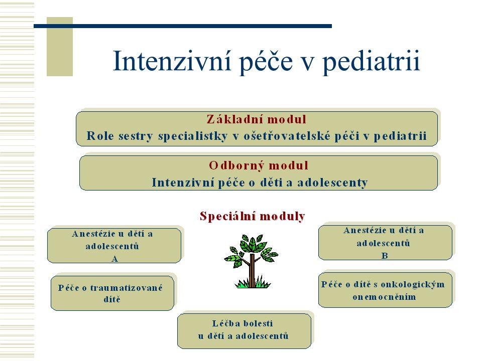 Intenzivní péče v pediatrii
