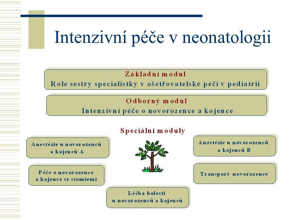 Intenzivní péče v neonatologii