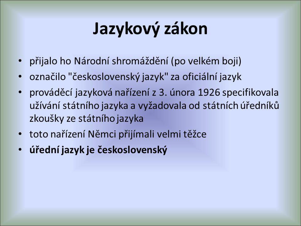 Jazykový zákon přijalo ho Národní shromáždění (po velkém boji)