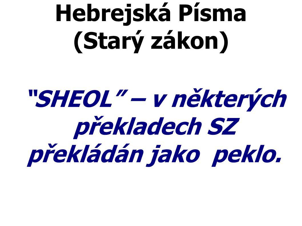 Hebrejská Písma (Starý zákon)
