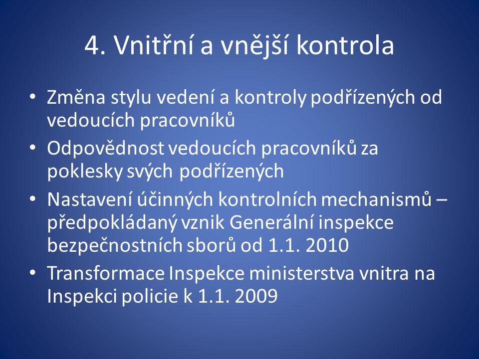 4. Vnitřní a vnější kontrola