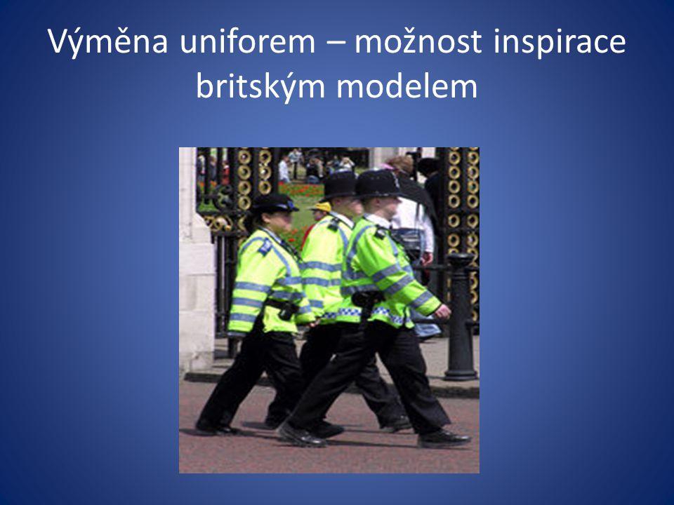 Výměna uniforem – možnost inspirace britským modelem