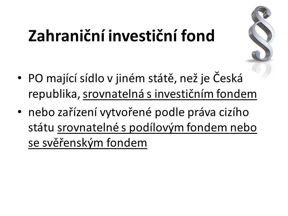 Zahraniční investiční fond