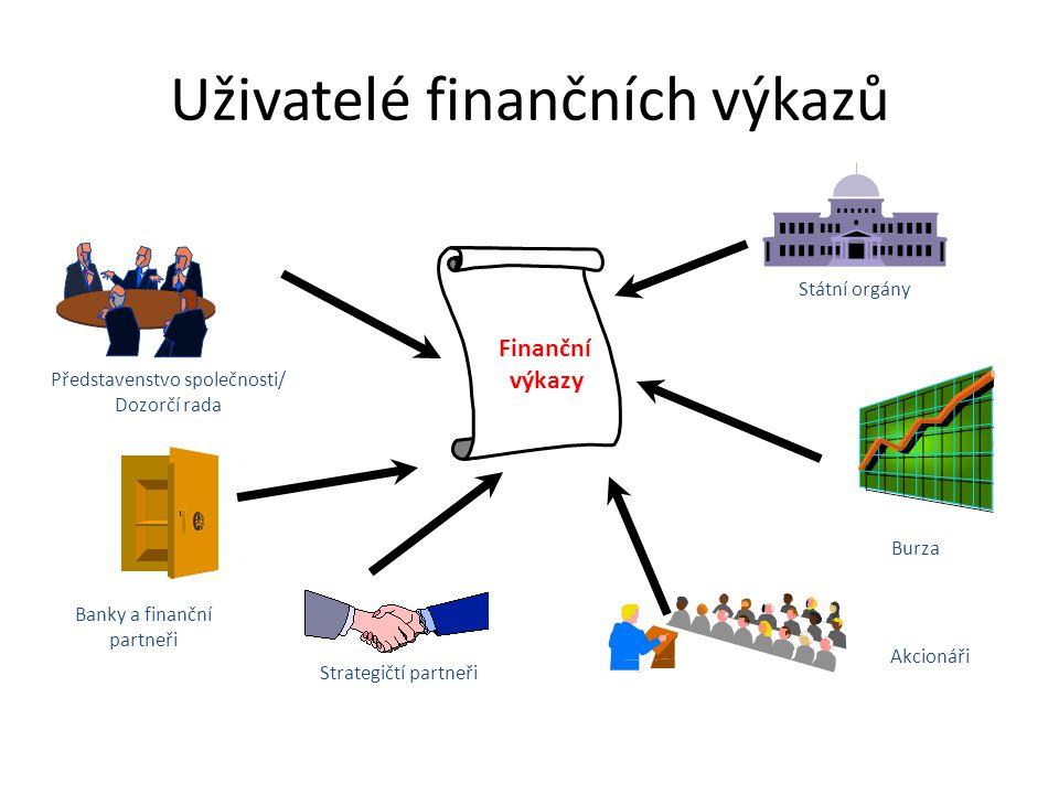 Uživatelé finančních výkazů