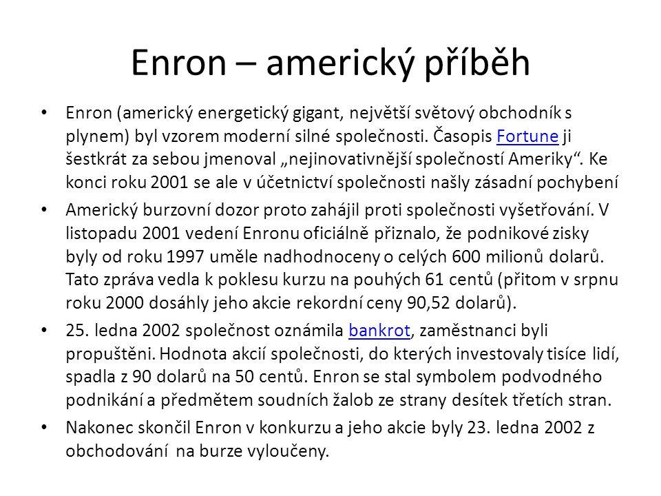 Enron – americký příběh
