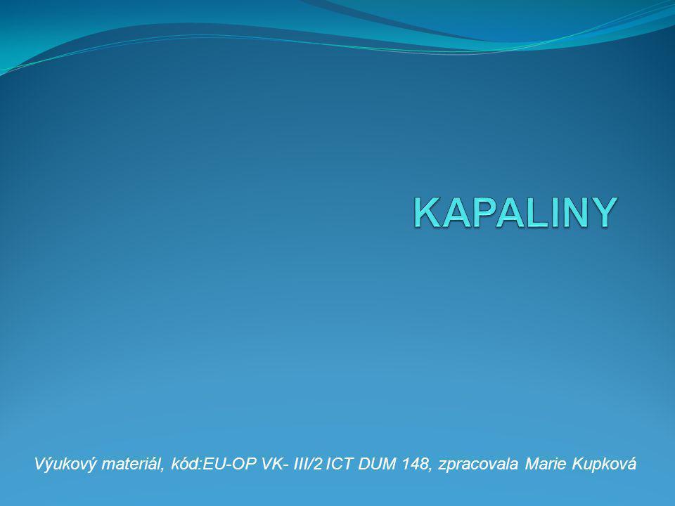 KAPALINY Výukový materiál, kód:EU-OP VK- III/2 ICT DUM 148, zpracovala Marie Kupková