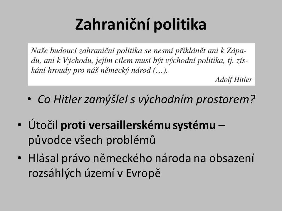Co Hitler zamýšlel s východním prostorem
