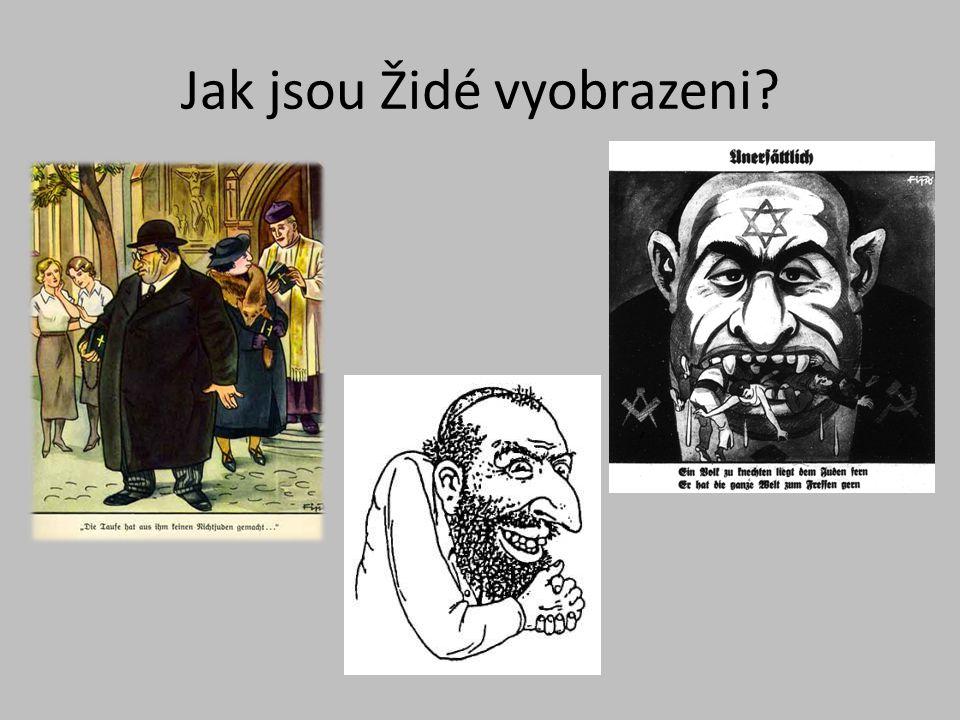 Jak jsou Židé vyobrazeni