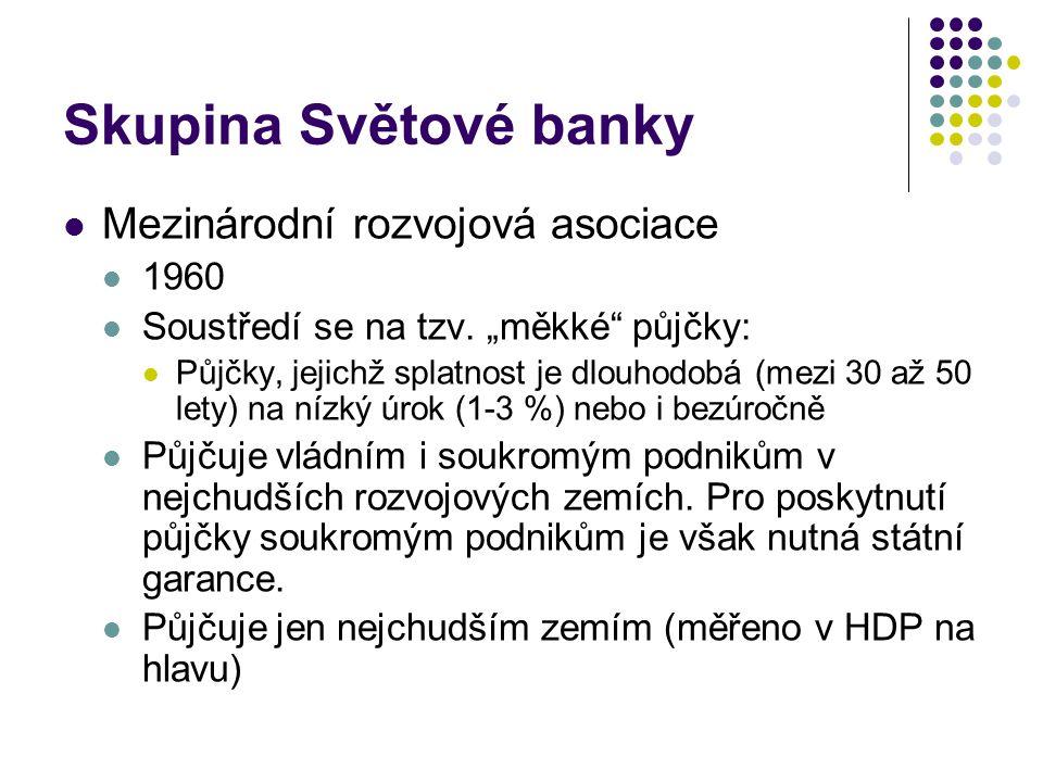 Skupina Světové banky Mezinárodní rozvojová asociace 1960