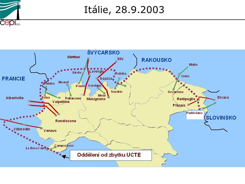 Itálie, 28.9.2003
