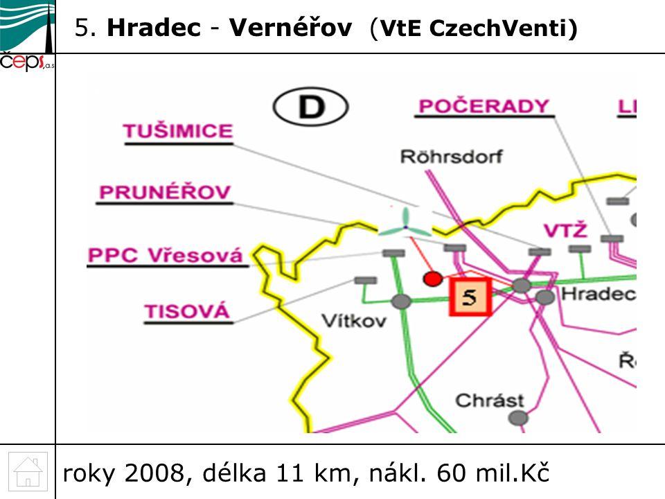 5. Hradec - Vernéřov (VtE CzechVenti)