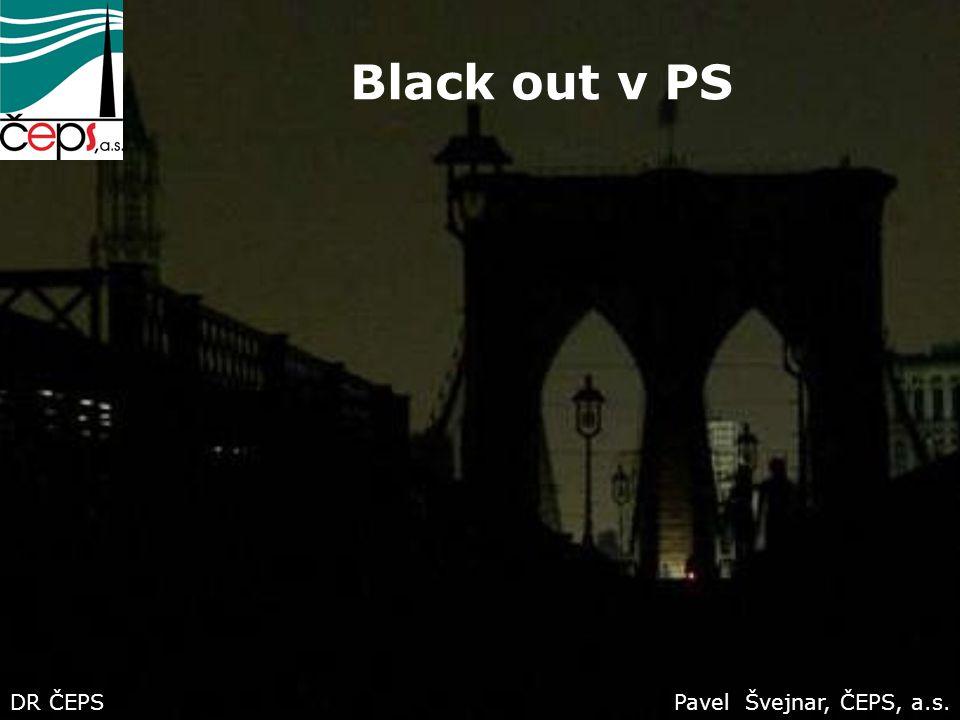 Black out v PS DR ČEPS Pavel Švejnar, ČEPS, a.s.