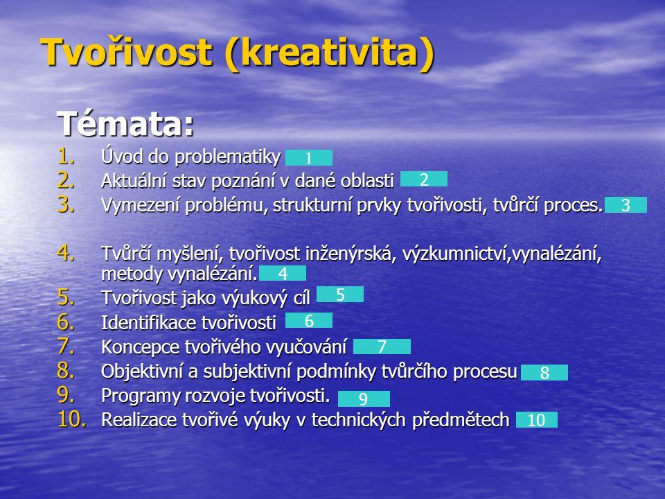 Tvořivost (kreativita)