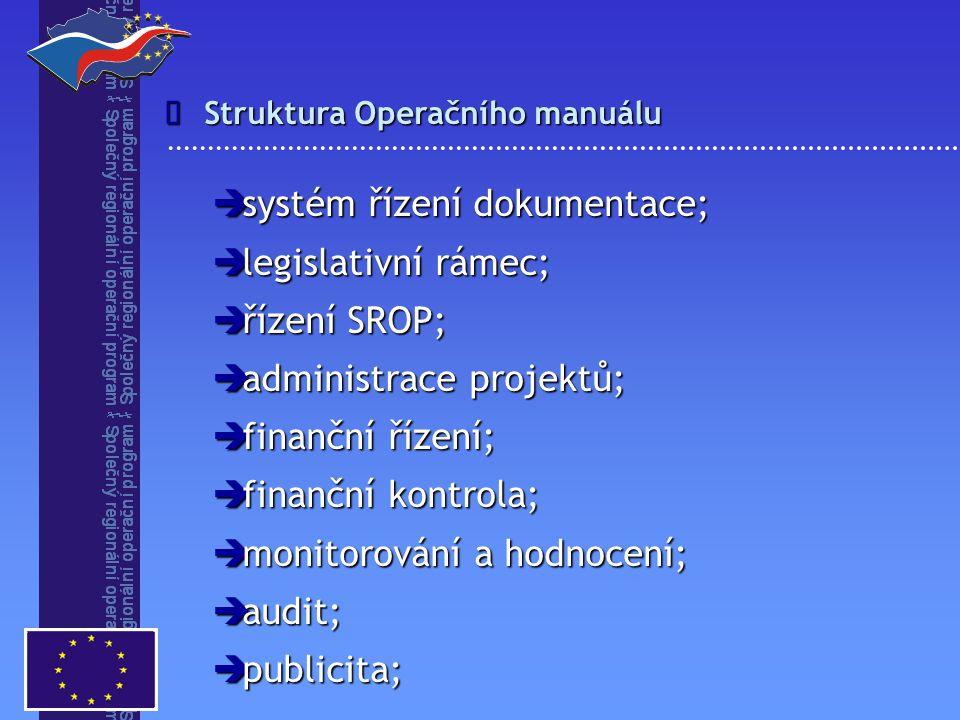systém řízení dokumentace; legislativní rámec; řízení SROP;