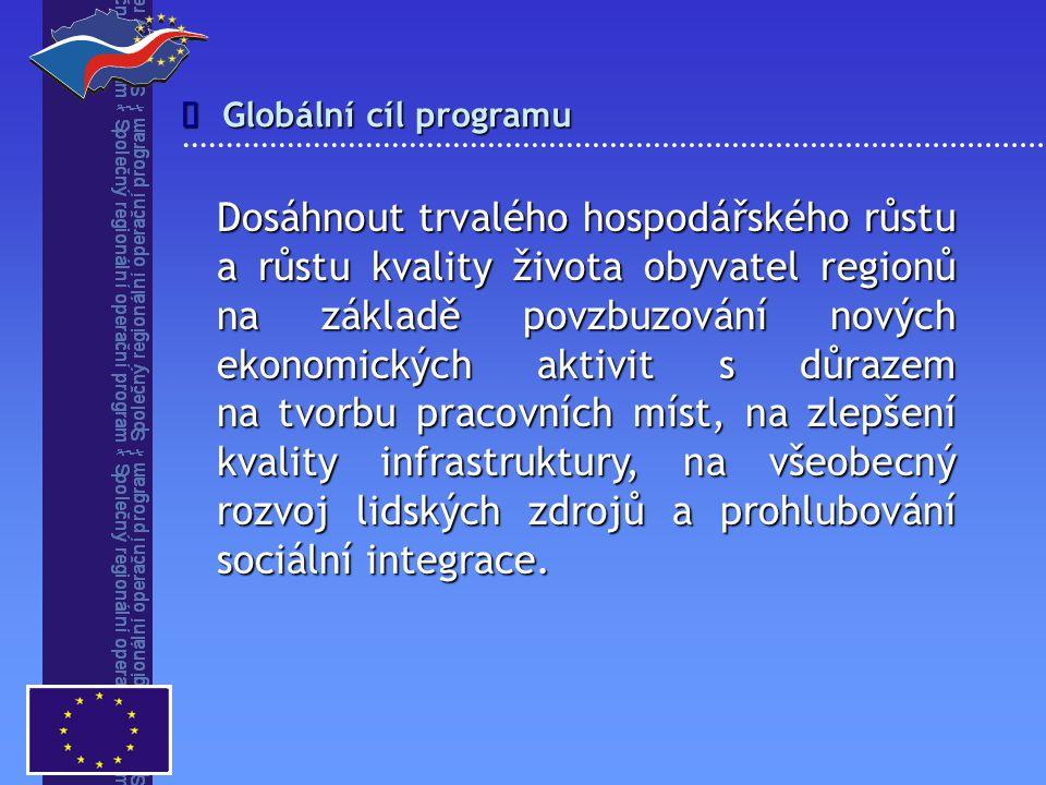 î Globální cíl programu.