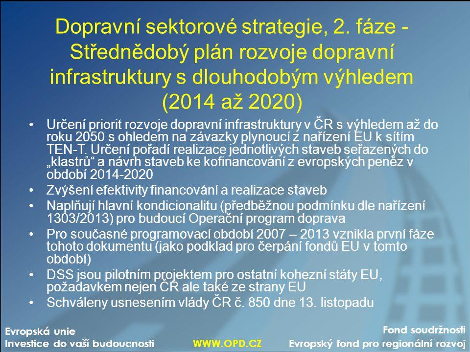 Dopravní sektorové strategie, 2