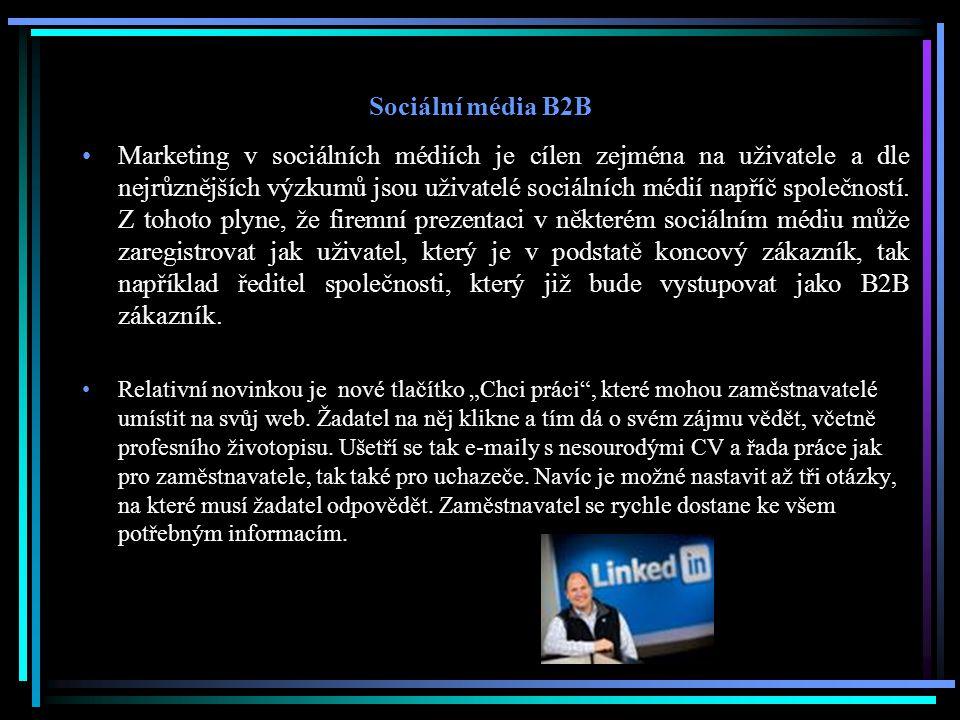 Sociální média B2B