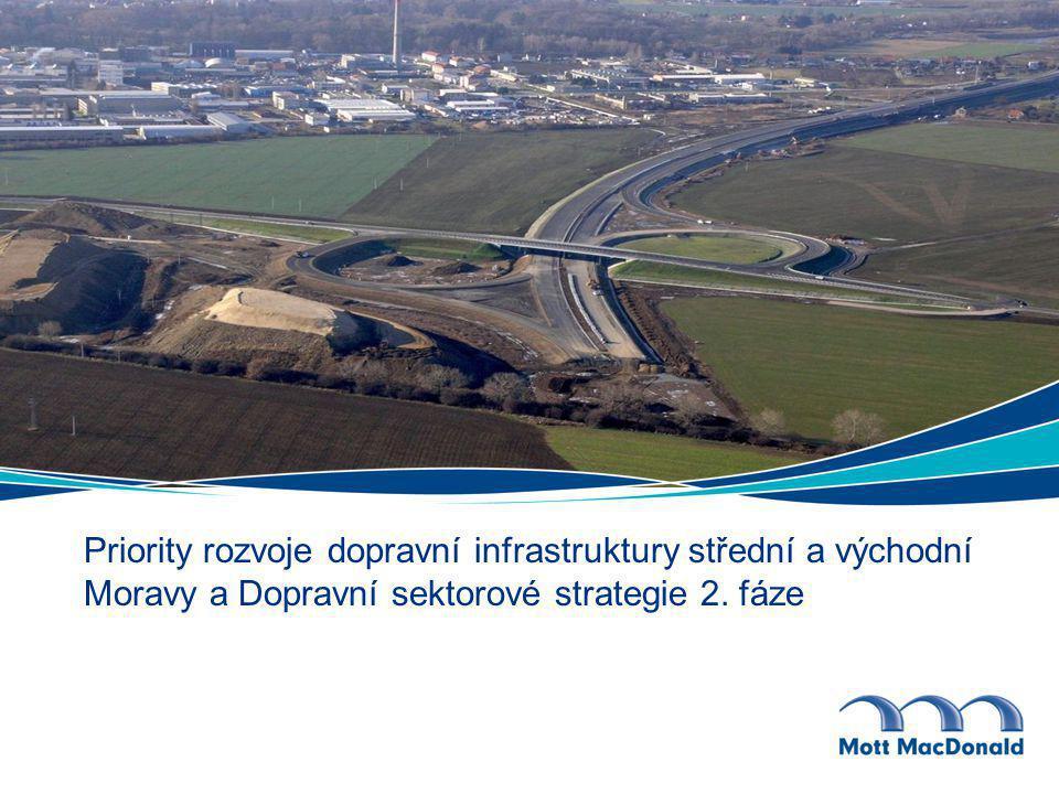 Priority rozvoje dopravní infrastruktury střední a východní Moravy a Dopravní sektorové strategie 2.