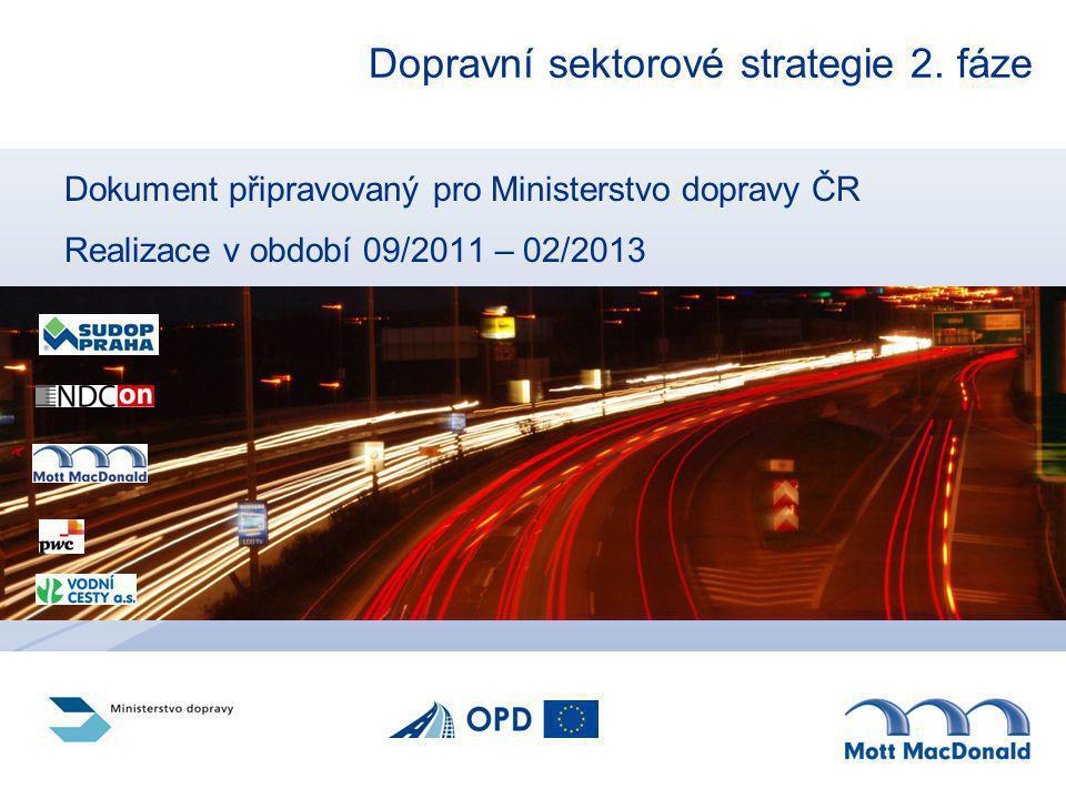 Dopravní sektorové strategie 2. fáze