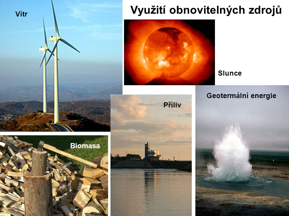Využití obnovitelných zdrojů