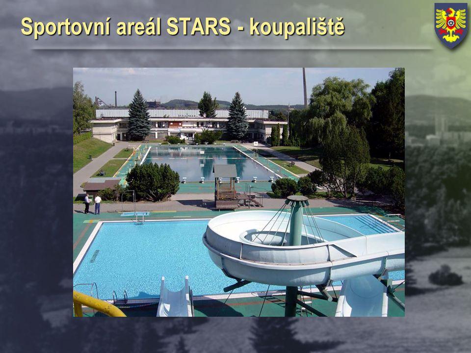 Sportovní areál STARS - koupaliště
