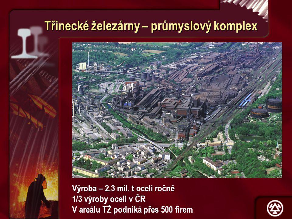 Třinecké železárny – průmyslový komplex