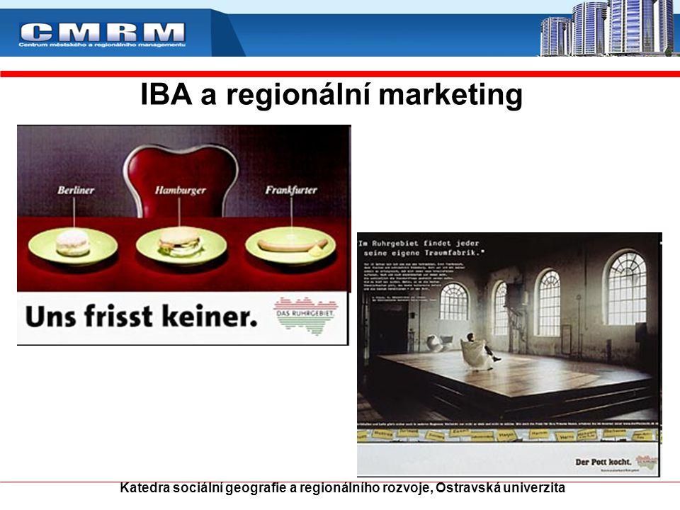 IBA a regionální marketing