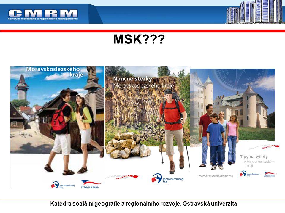 MSK Katedra sociální geografie a regionálního rozvoje, Ostravská univerzita 18