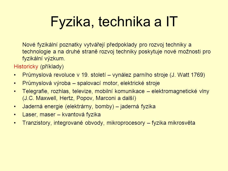 Fyzika, technika a IT