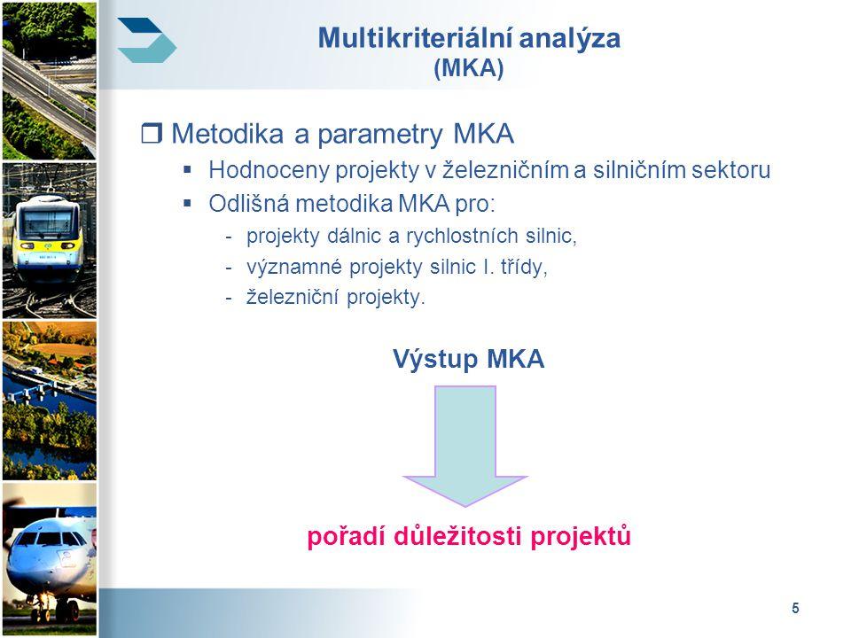 Multikriteriální analýza (MKA)