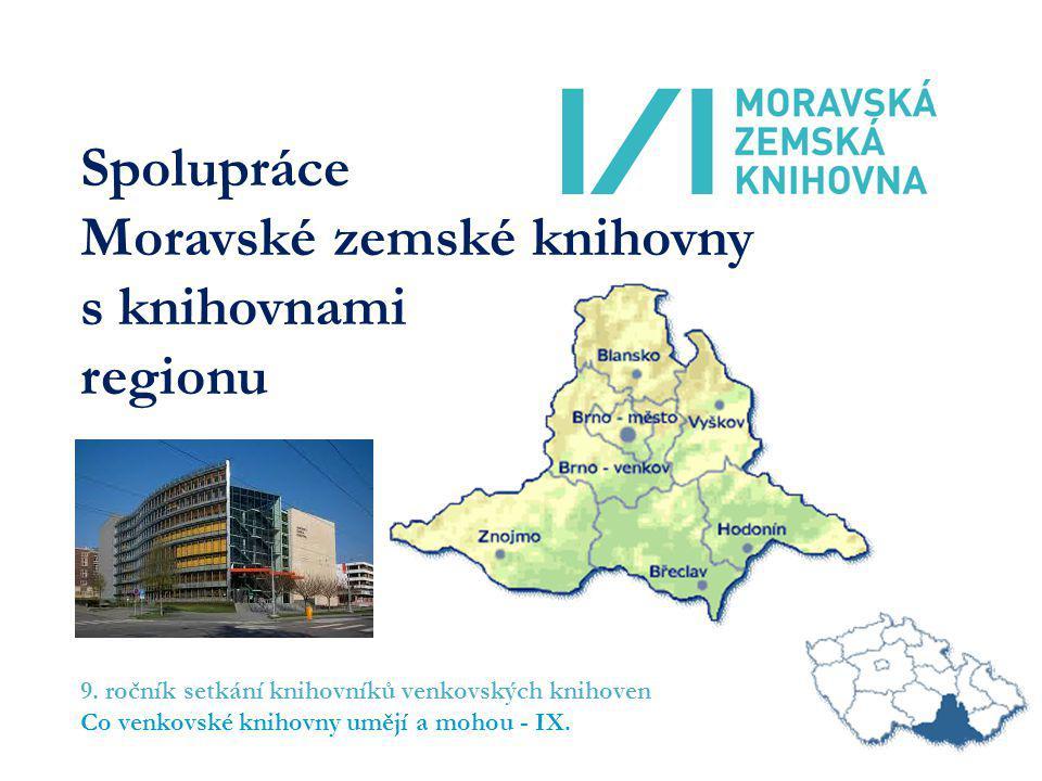 Spolupráce Moravské zemské knihovny s knihovnami regionu