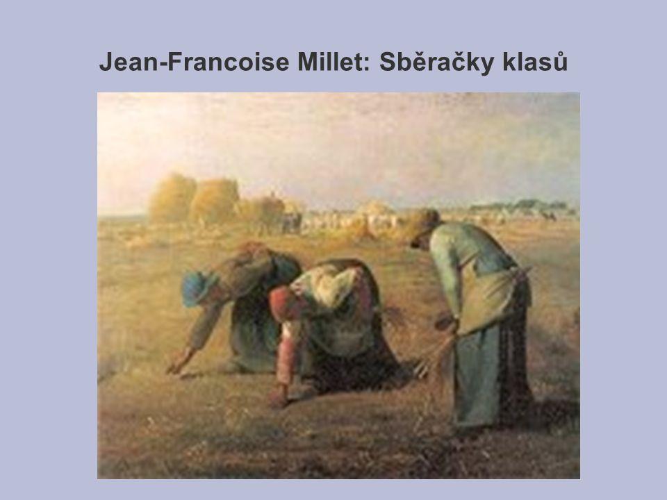 Jean-Francoise Millet: Sběračky klasů