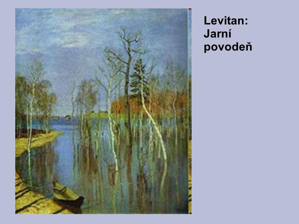 Levitan: Jarní povodeň
