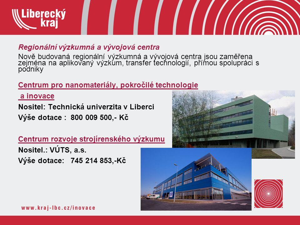 Regionální výzkumná a vývojová centra