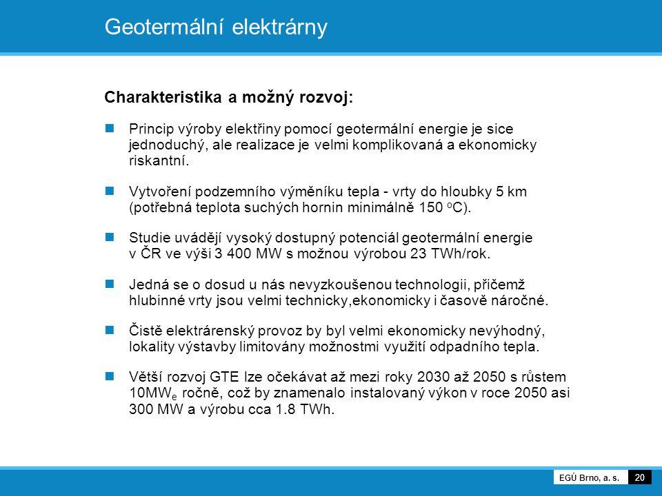 Geotermální elektrárny